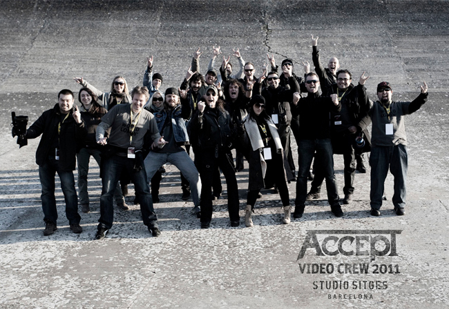 Accept in Studio Sitges