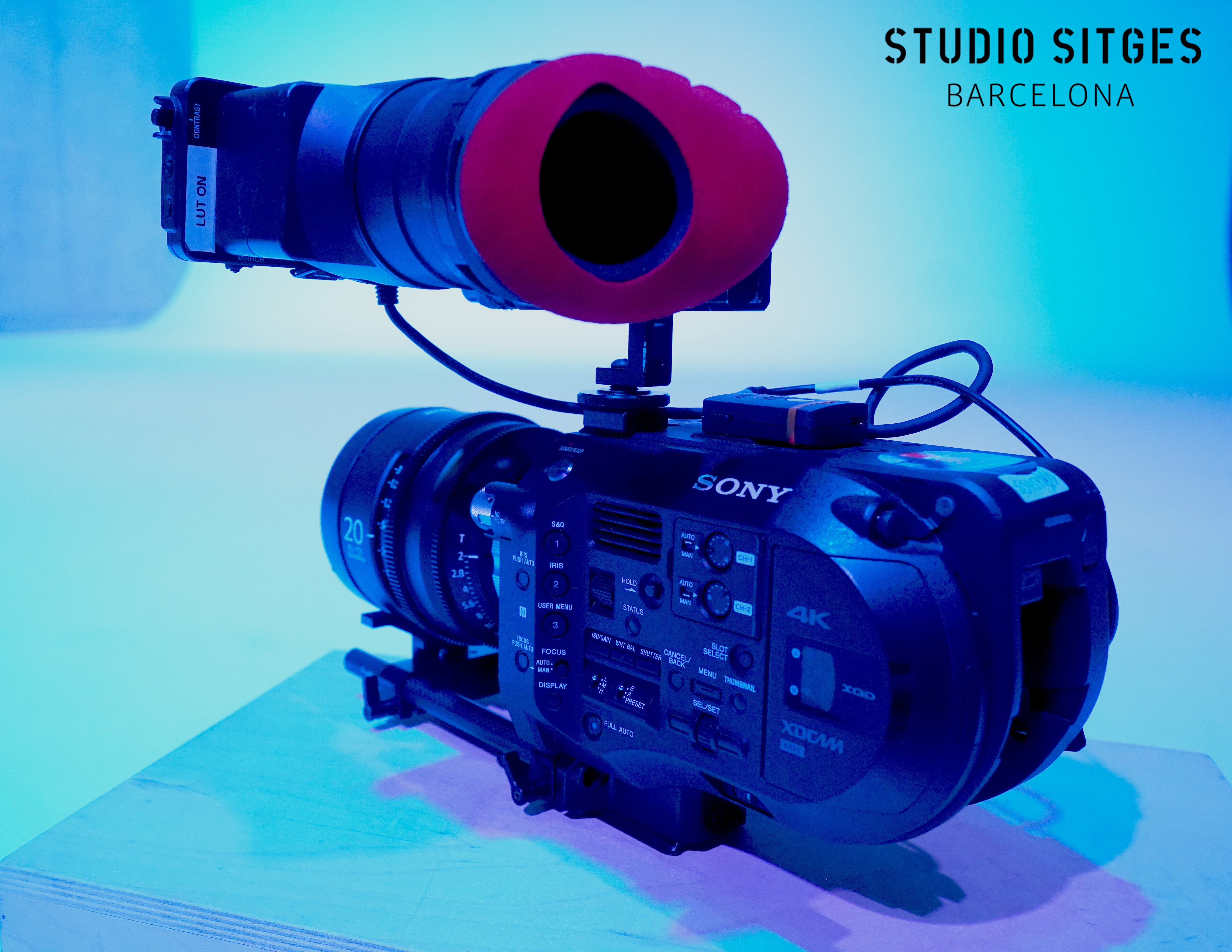 The Sony PXW-FS7 handheld Camera system